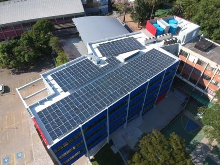 La Salle POA - Painéis solares