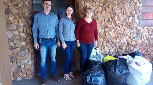 No dia 26 de julho a doação foi entregue na Saidan